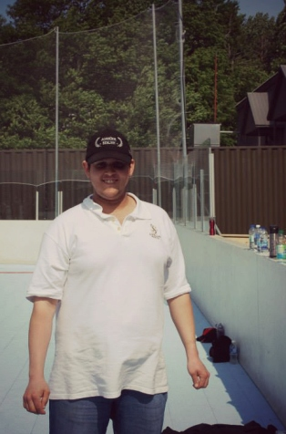 Guillaume sur Dek Hockey